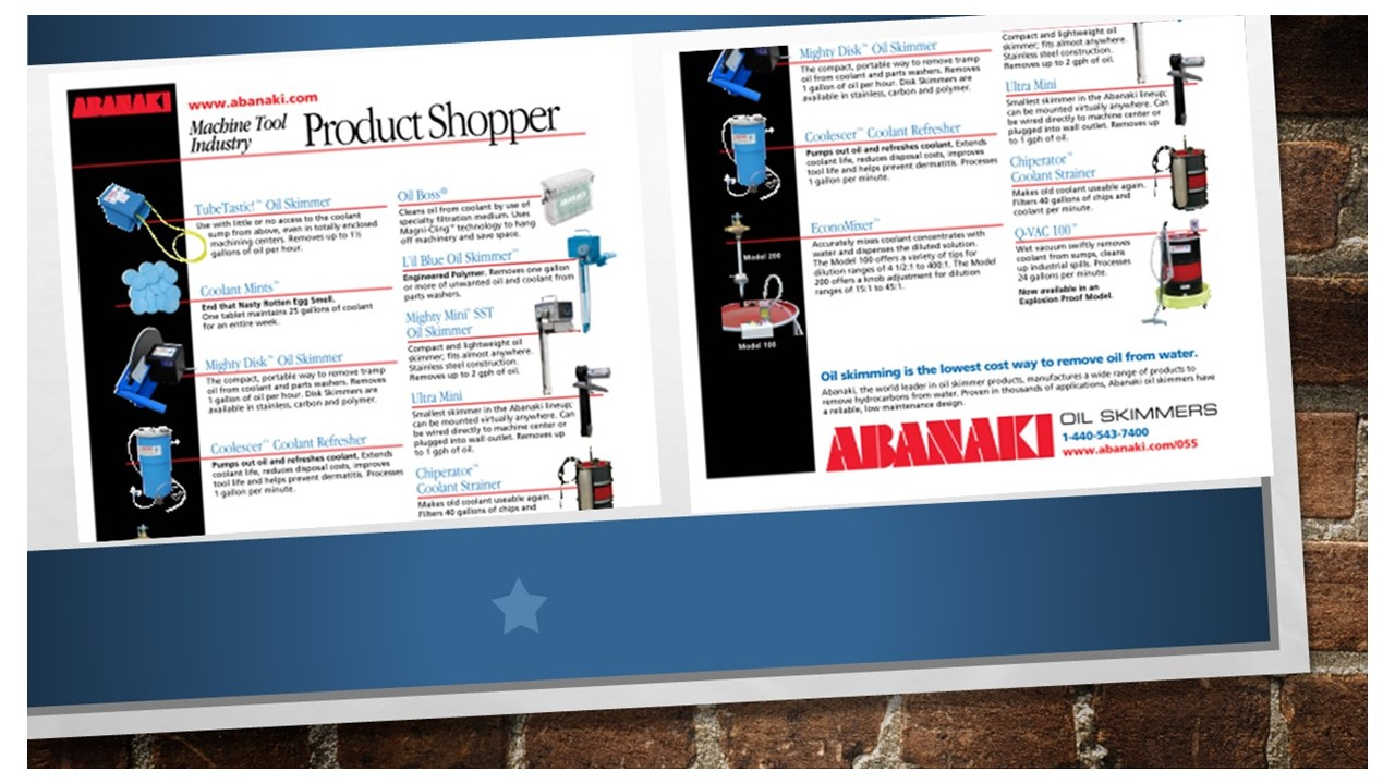 Abanaki Product Shopper