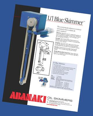 Li'l Blue Oil Skimmer