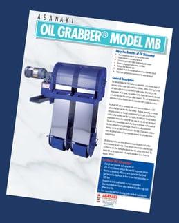 OI Grabber Model MB Oil Skimmer
