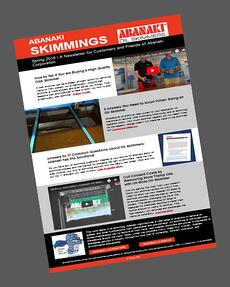 Skimmings Newsletter