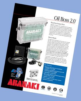 Oil Boss Oil Skimmer